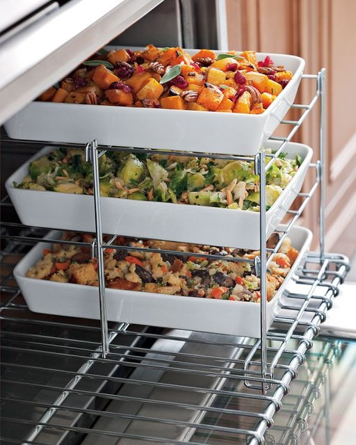 Three Tiered Oven Rack contemporary-bakeware