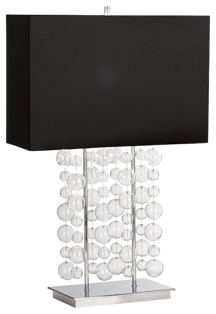 Possini Euro Design Bubble Cascade Table Lamp contemporary-table-lamps