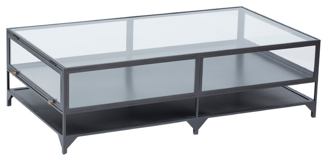 Shadow Box Coffee Table Eclectic By High Fashion Home