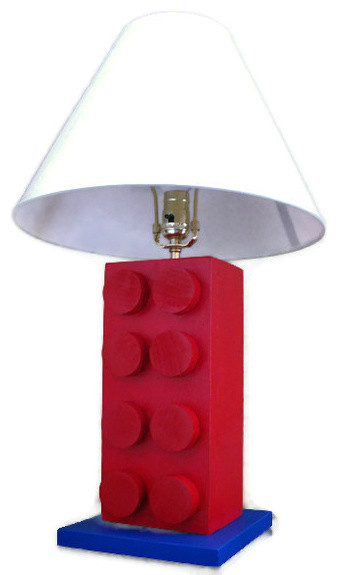 Lego Style Lamp by Happywood Goods - Modern
