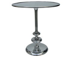 Marlow Matchstick Pedestal Table contemporary-side-tables-and-end-tables