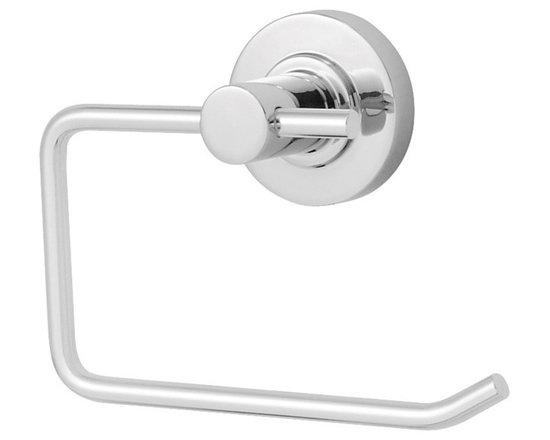 Speakman - Speakman Neo Collection Paper Holder in Polished Chrome - With smooth designs and sharp edges, Speakman's Neo Collection brings sleek style to the modern bathroom. Featuring solid-metal construction, this paper holder offers the same respected durability that comes with the Speakman name. Each paper holder is easy to install, and is available in Polished Chrome and Brushed Nickel to fit any bathroom decor