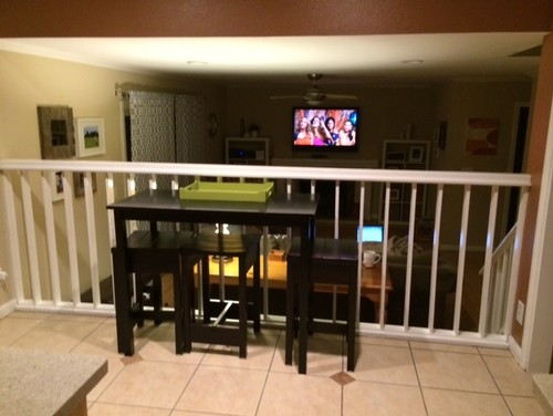 Need help with my tri level step down family room from for Tri level home remodel