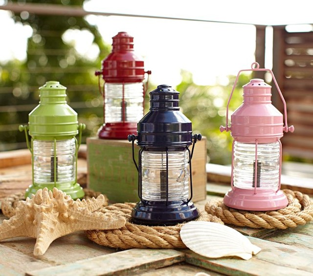 modern outdoor lighting by Pottery Barn Kids