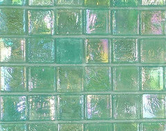 Sicis Glimmer Mosaic Glass Tile contemporary bathroom tile