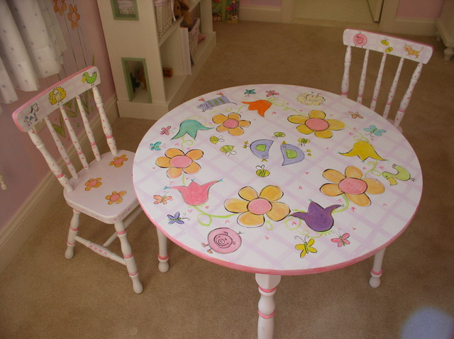 are huge hand painted childrens bedroom furniture love