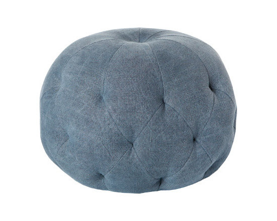 """Pouf 26"""" Round Ottoman by Cisco Brothers -"""