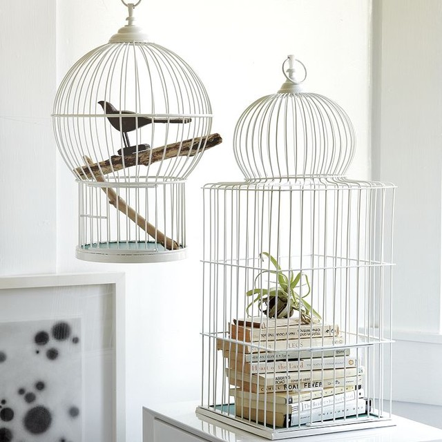 bird cages contemporary home decor by west elm using bird cages for decor 66 beautiful ideas digsdigs