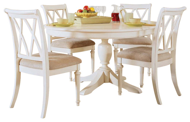 American Drew Camden Light Round Dining Set Contemporary Furniture By M