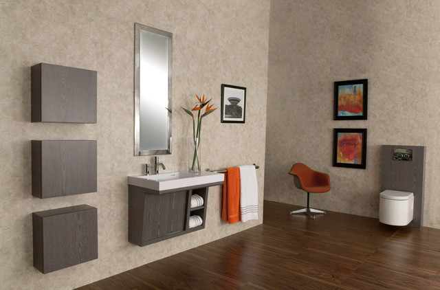 Ada Compliant Libera Vanity Contemporary Bathroom Vanities And Sink Consoles Chicago By