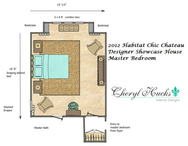 Habitat for humanity chic chateau designer showcase house for Habitat home designs