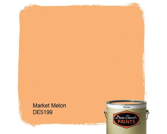 Dunn-Edwards Paints Market Melon DE5199 -