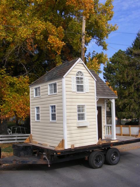 Jacque's Playhouse modern-outdoor-playhouses