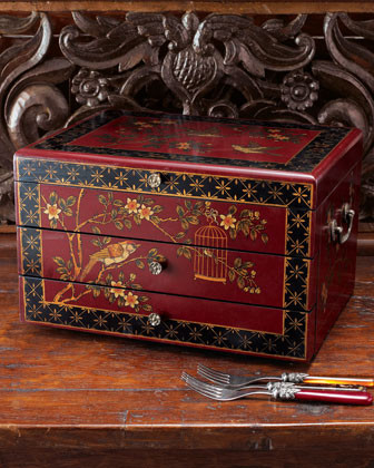Sunrise Flatware Chest - traditional - dressers chests and bedroom