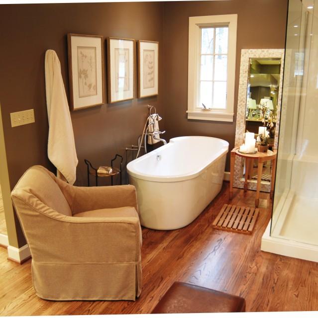 Spa bathroom traditional-bathroom