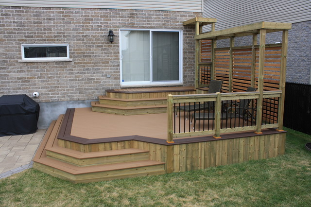 Patio Deck-Art Designs® NEW 2013 traditional-deck