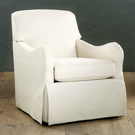Elsie Swivel Glider Club Chair - Traditional - Rocking Chairs - by ...