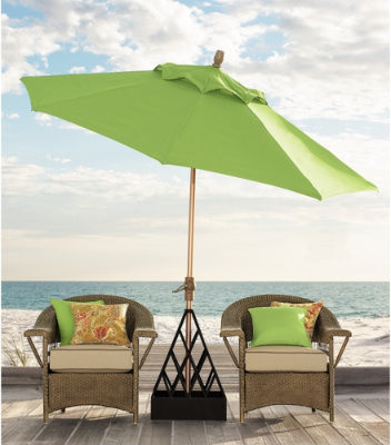 Auto Tilt Umbrella traditional outdoor umbrellas
