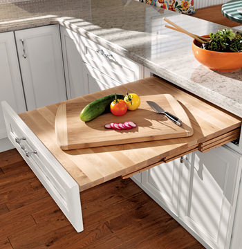 Kitchen Drawer Pull Out Table Design Ideas