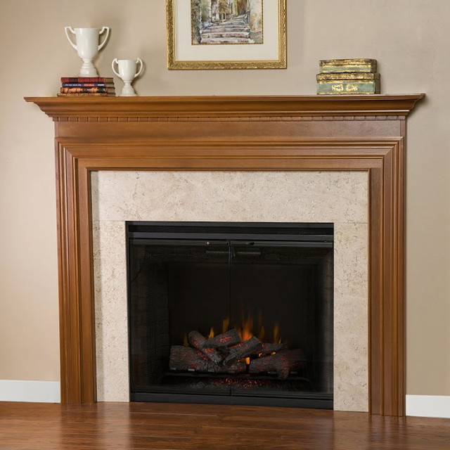 Yellowstone Wood Fireplace Mantel - Transitional - Fireplace Accessories - other metro - by ...