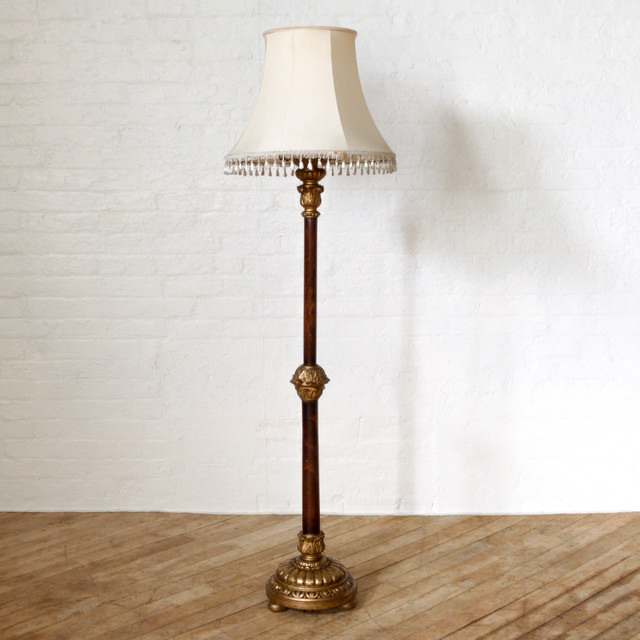 1920 39 s gilt standard lamp for 1920 floor lamp