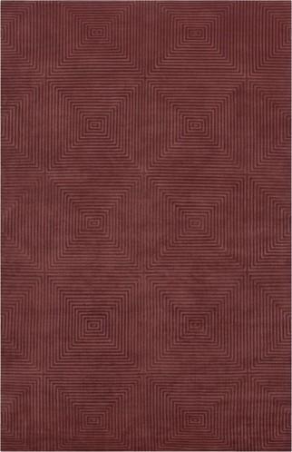 Luminous Raspberry Rug modern-rugs