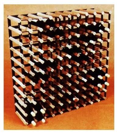 Cellar Trellis 39 in. Wine Rack contemporary-wine-racks