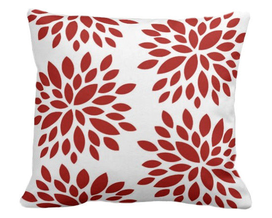 PURE Inspired Design - Dahlia Organic Pillow Cover, Orange/Natural, 18 X 12 - Collection:  PURE Beach