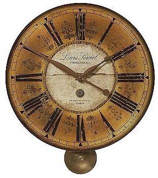 "Louis Lenial Wall Clock 20"" traditional-wall-clocks"