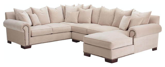 bennington u shape sectional sectional sofas seattle by diggs dwellings llc. Black Bedroom Furniture Sets. Home Design Ideas