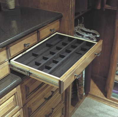 What Is Jewelry Drawer Lined With Felt Or Silverware Cloth