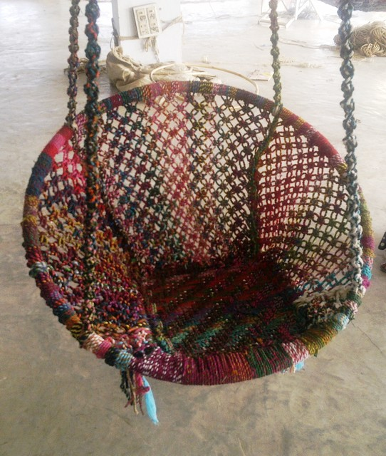 Recycled Cotton Swings hammocks-and-swing-chairs