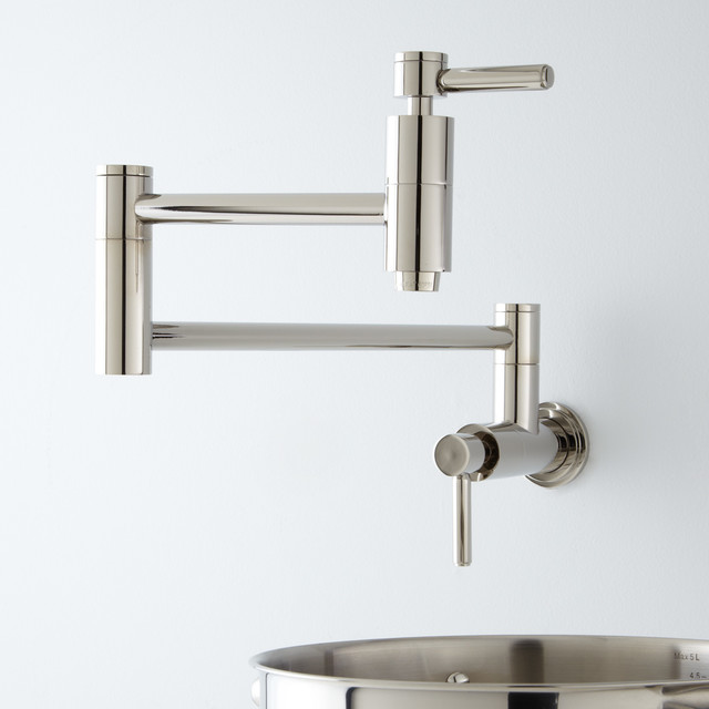 Pot Sink Faucet : ... Pot Filler Faucet - Contemporary - Pot Fillers - by Signature Hardware