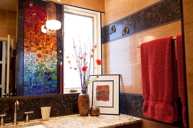 Grennier Guest Bathroom eclectic-bathroom