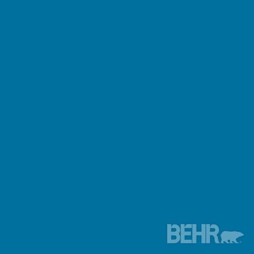 Behr paint color blue ocean 550b 7 modern paint for Behr pro paint