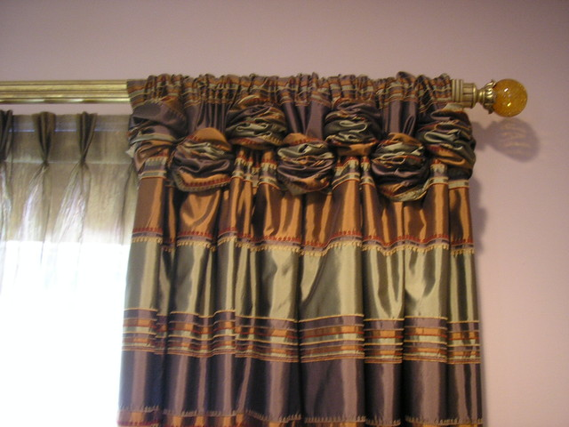 Rouched Tab Panels curtains