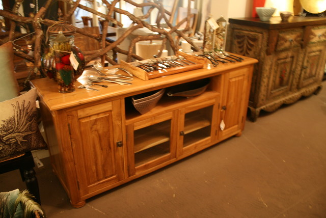 Cabinets and Dressers - Beach Style - Entertainment Centers And Tv Stands - houston - by Texas ...