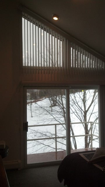 Angle Verticals Modern Vertical Blinds Other Metro