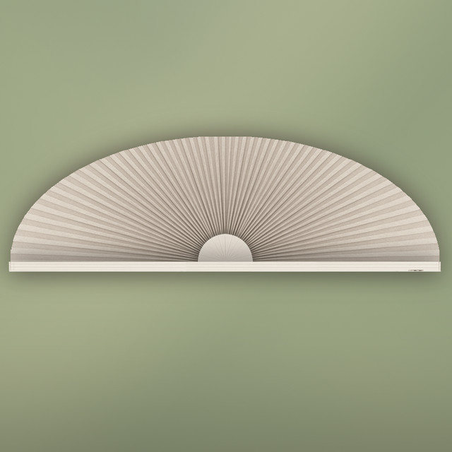 Eyebrow arch window shade contemporary cellular shades houston