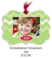 Embellished Ornament, Joy contemporary-christmas-ornaments