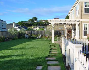 Shades of Green : Kid-friendly Backyard - San Rafael, CA : Portfolio traditional-landscape