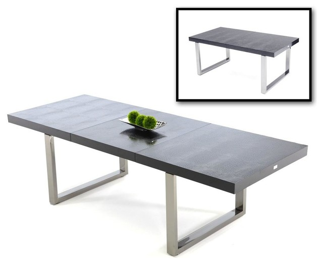 Extendable Dining Table Modern Dining Tables By New York
