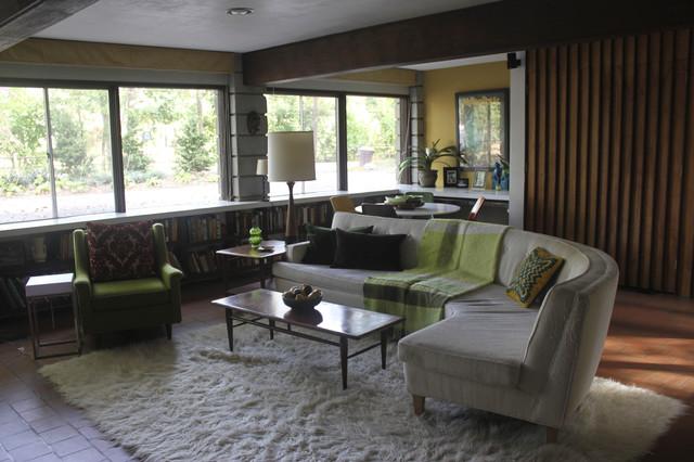 Den In Our 1958 Irwin Stein Mid Century Modern Home