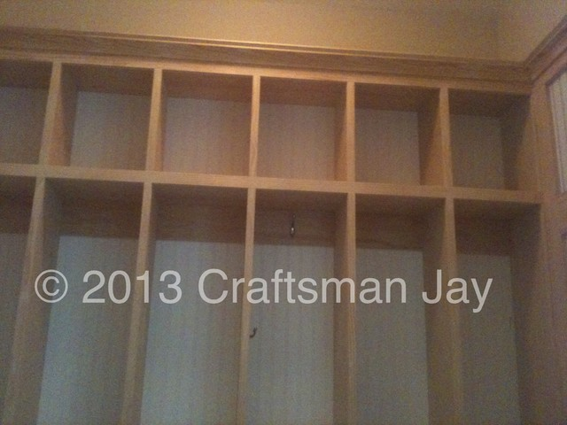 Mudroom Closet Locker contemporary