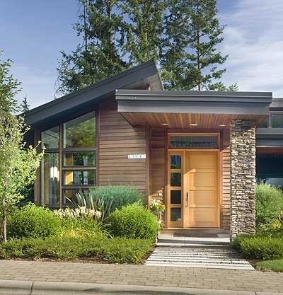 Exterior Entry contemporary