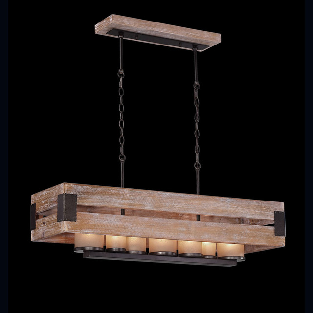Cesto rectangular chandelier modern chandeliers by for Luminaire suspendu moderne