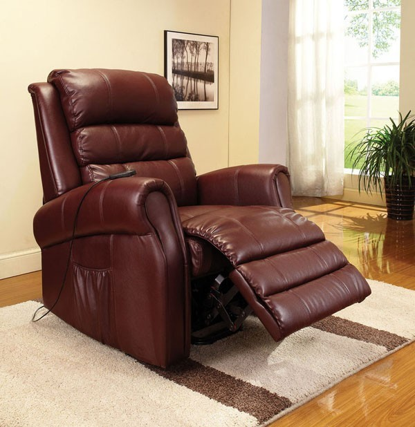 ACME Furniture - Emari Contemporary PU Electric Lift Recliner with Massage - 591 traditional-massage-chairs