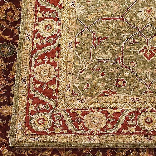 "Anatolia Terrain Wool Area Rugs - 2'3"" x 8 traditional-rugs"