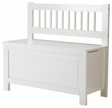 Hemnes Storage Bench Scandinavian Accent And Storage