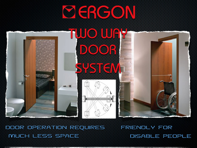 ERGON DOOR SYSTEM home-office-products